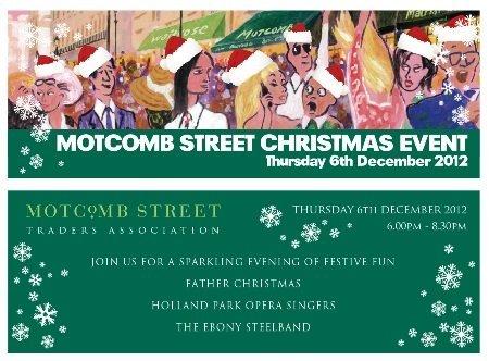 Motcomb street christmas