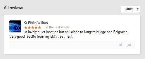 Clinicbe google review