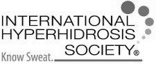 international hyperhidrosis society logo
