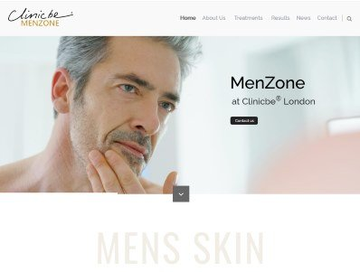 Clinicbe Menzone Launches New Website